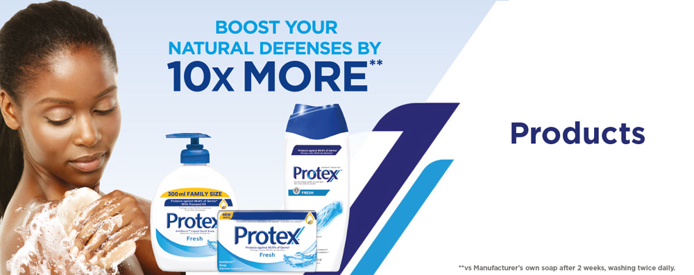 Protex boost your natural defenses by 10X more